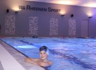 Het hele zwemtraject doorlopen: Esmee Slingerland